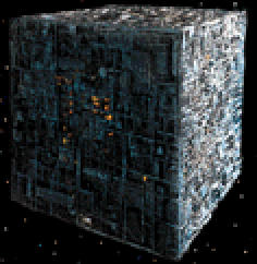 Borg Cube, Star Trek: The Next Generation