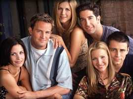 Friends gang: Rachel Green, Monica Geller, Phoebe Buffay, Joey Tribbiani, Chandler Bing, Ross Geller