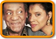Cliff Huxtable and Clair Huxtable, The Cosby Show