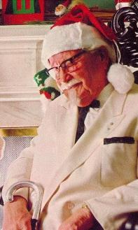 Colonel Sanders resting
