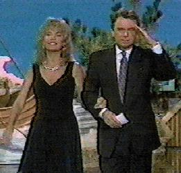 Your hosts: Pat Sajak and Vanna White